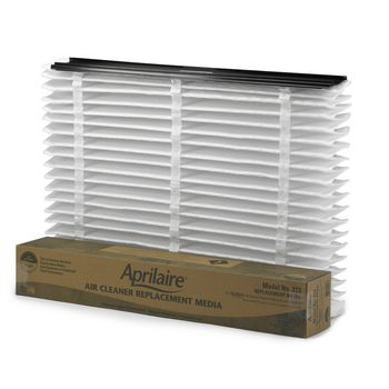 Replacement media air filter (Merv 13) fits Aprilaire Models 4200, 3210, 2210 and 1210 Air Cleaners.