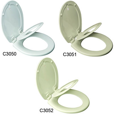 Round NextStep Child/Adult Toilet Seat with Whisper Close with Easy Clean & Change Hinge and STA-TITE