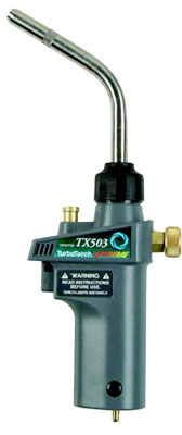 TX503 Torch Swirl, MAP-Pro/LP Gas, Self Lighting, High Capacity Applications