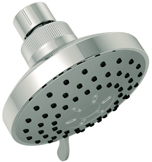 Chrome 6 setting shower-head