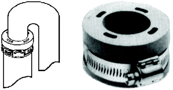 Hose Grip Washer Connector
