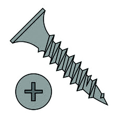 "#6 x 1-1/8"" Drywall Screw, 100 Qty."