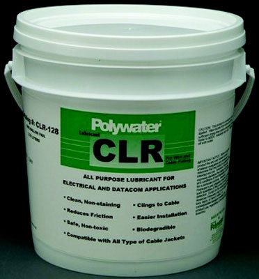 1 Gallon Transparent Polywater CLR Clear Lubricant