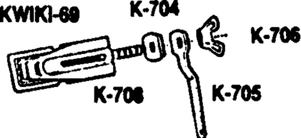 Kwik Regulator Set