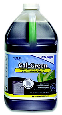 Cal-Green Coil Cleaner, 1 Gallon Bottle