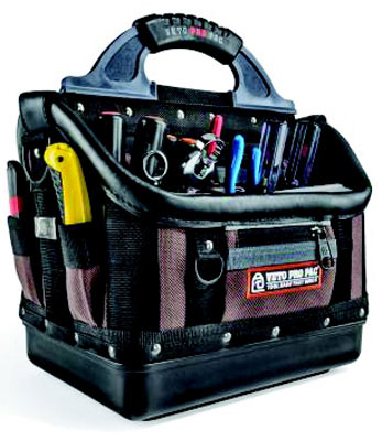 "17""H x 13.5""L x 9.5""W Contractor Series Open Tool Bag"