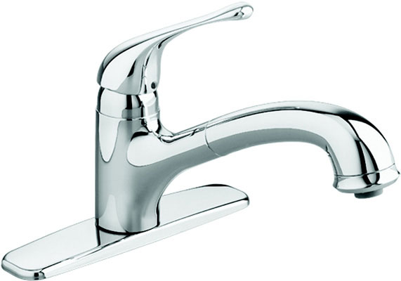 Pull-Out Kitchen Faucet Chrome