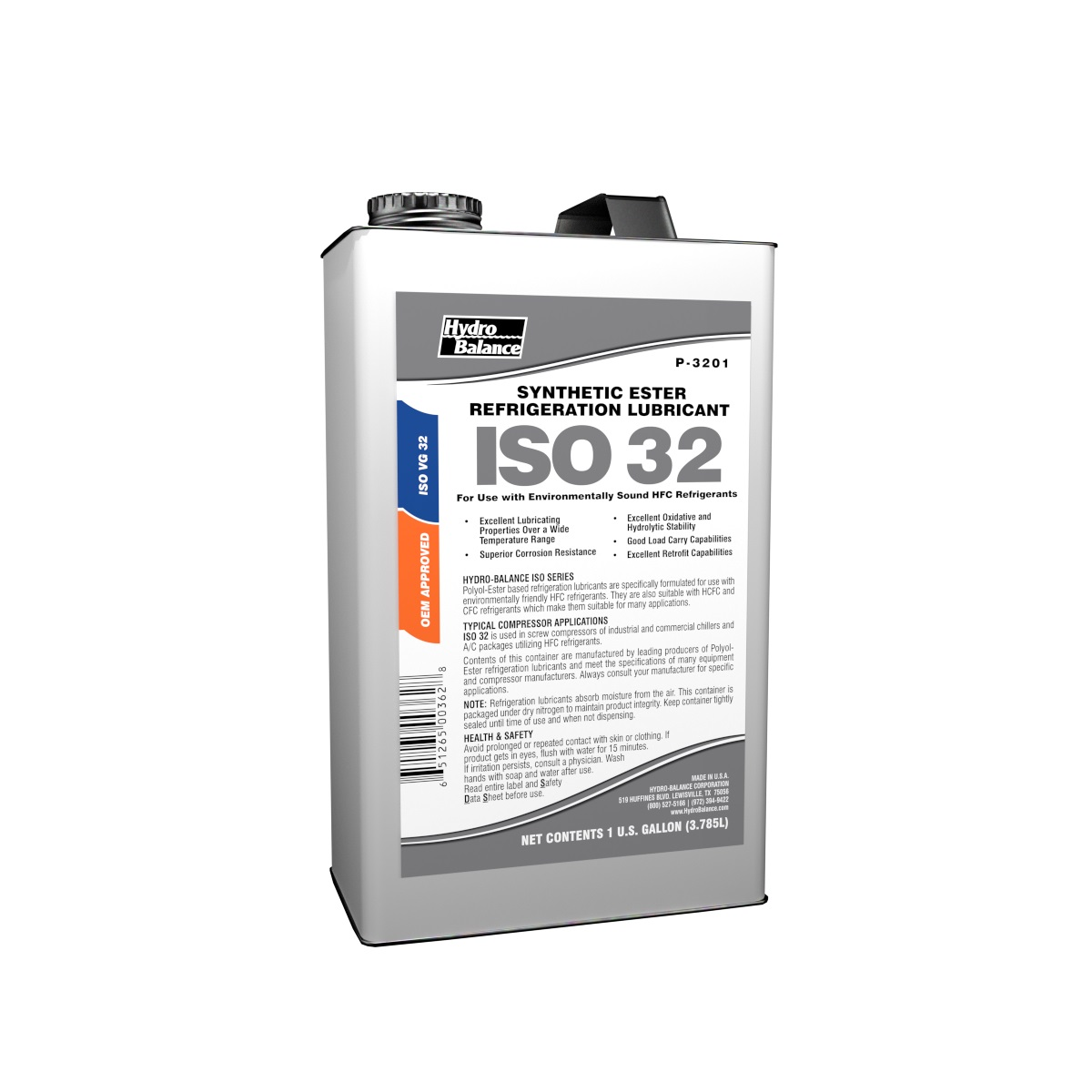 ISO 32 Synthetic POE Refrigeration Lubricant