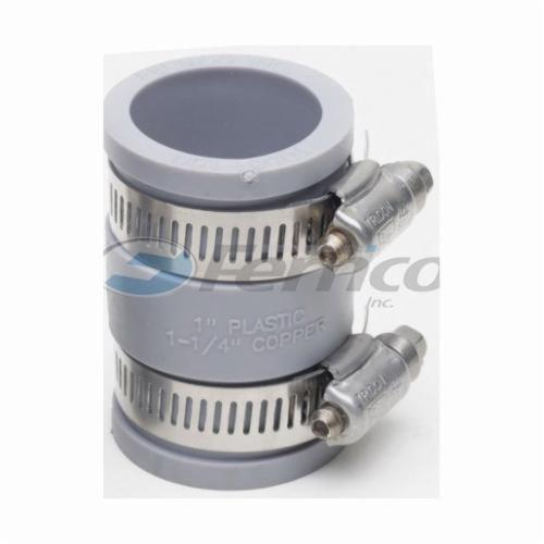Flexible Pipe Coupling, 1 in, CPVC x C, SCH 40/STD, PVC