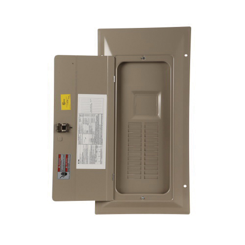 Pow-R-Line CH8NLEF Type CH Loadcenter Cover, 30 in L x 15 in W x 1 in H, Flush Mounting