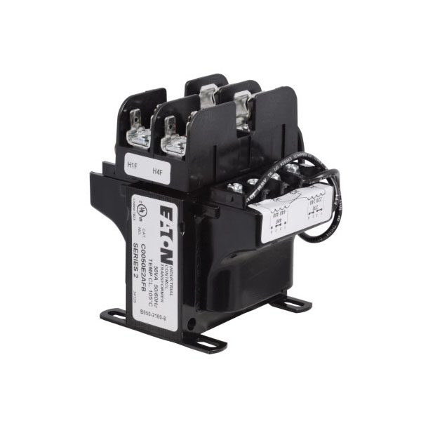 C0150E2AFB MTE Industrial Control Transformer With Primary Fuse Block, 120/115/110 V Secondary, 150 VA