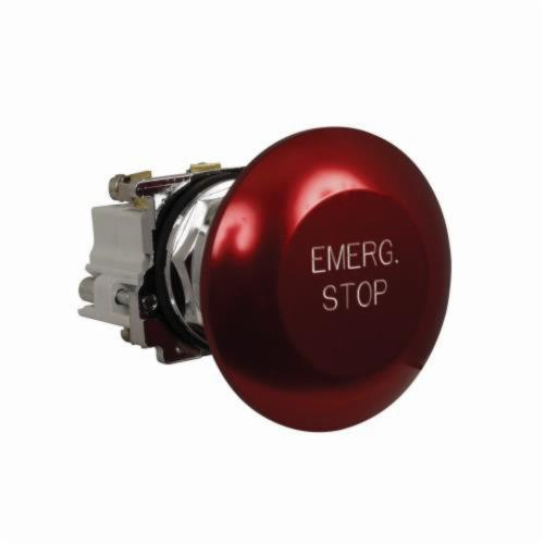 10250T Heavy Duty Assembled Pushbutton, 65 mm, 1NO-1NC, Red