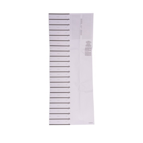 BRMS Circuit Marking Strip, For Use With Model BR2020B100, BR2024H100 BR Loadcenter Cover/Door