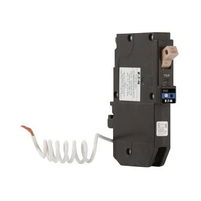 CHFAFGF115 Type CH Dual Purpose Standard Combination Circuit Breaker, 102 to 132 V, 15 A, 10 kA Interrupt