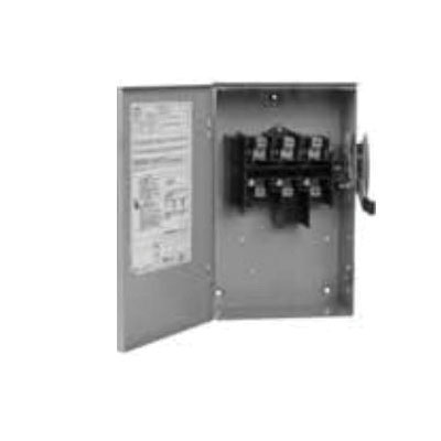 B Series Non-Fusible General Duty Safety Switch, 240 VAC, 15 hp, 100 A, DPST Contact Form, 2 Poles