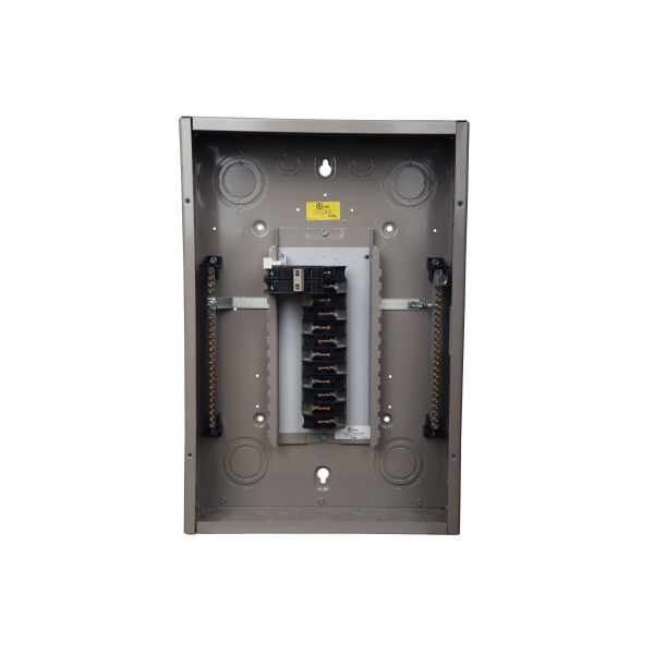 CH22N125R Single Phase Convertible Load Center With Hub Closure Plates, 120/240 VAC, 125 A, 22 Pole
