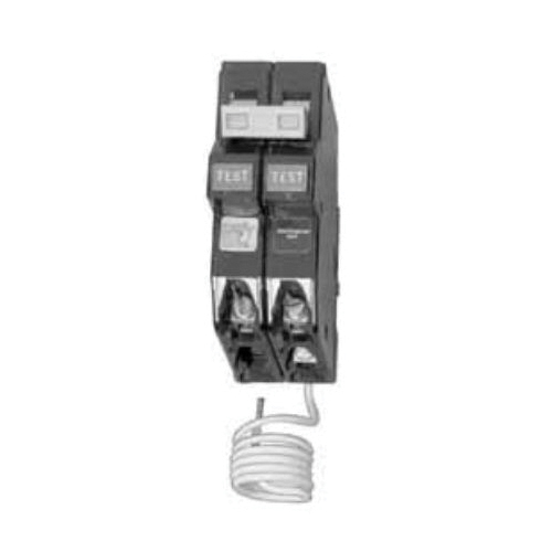 CH220GFT Type CH Ground-Fault Circuit Breaker, 120/240 VAC, 20 A, 10 kA Interrupt, 2 Poles