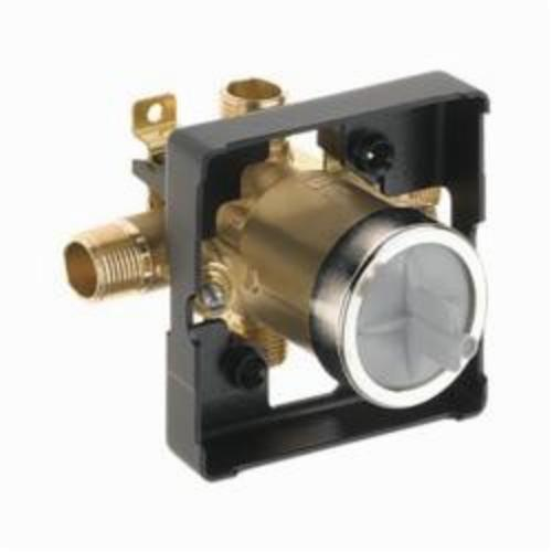 R10000-UNWS Universal Tub and Shower Rough Valve Body With Stops, 1/2 in MNPT Inlet x 1/2 in FNPT C Outlet