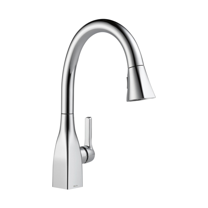 Products | DELTA 4353-DST Linden Kitchen Faucet, 1.5 gpm, 8 ...