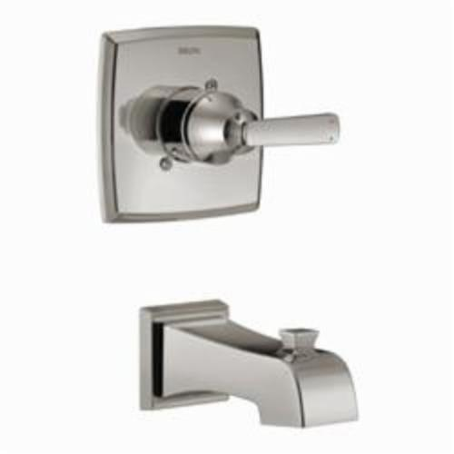 DELTA Monitor 14 Ashlyn Tub Trim, Brilliance Stainless Steel, 1 Handles, Domestic, Commercial