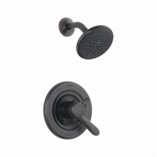 DELTA Monitor 17 Lahara Shower Trim, 2.5 gpm, 1 Lever Handles, Venetian Bronze, Commercial