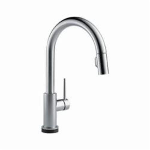 DELTA 9159T-AR-DST Trinsic Kitchen Faucet, 1.8 gpm, 8 in, Commercial, 1 Handles, (6) AA Battery