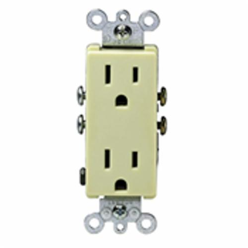 Products | Decora 5325-I Straight Blade Duplex Receptacle