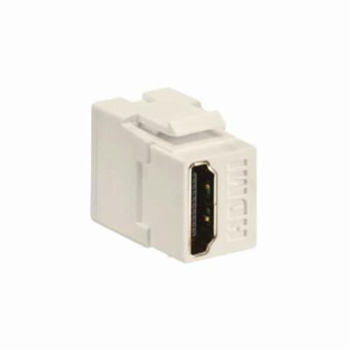 QuickPort 40834-T Feed-Through HDMI Connector, Snap-In/Female to Female Connector