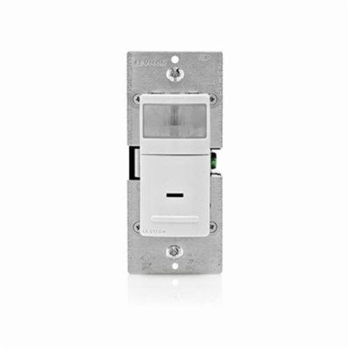 Decora IPS02-1LW 1-Pole Wall Mount Occupancy Sensor, 120 VAC, Passive Infrared Sensor, 900 sq-ft Coverage, 180 deg
