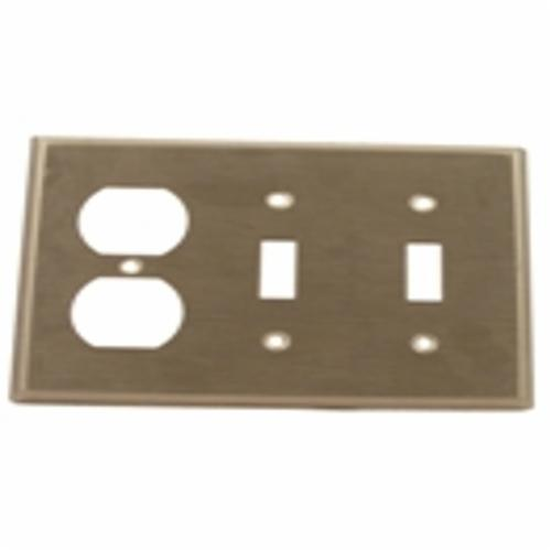 Products Leviton 84021 40 Standard Combination Wallplate 3 Gangs