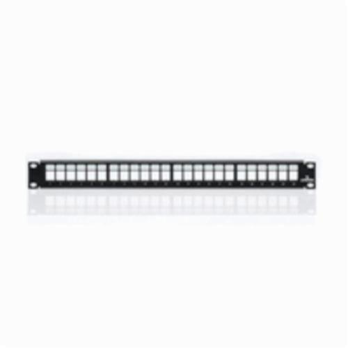 QuickPort 49255-H24 Patch Panel, 24 Ports, Steel