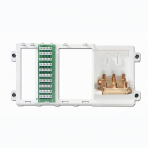 Leviton 47606-BTV Telephone and Video Panel