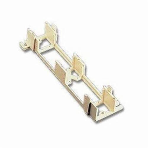QuickPort 40089-D Mounting Bracket, For Use With QuickPort Field Configurable Patch Block, Wall Mount, White