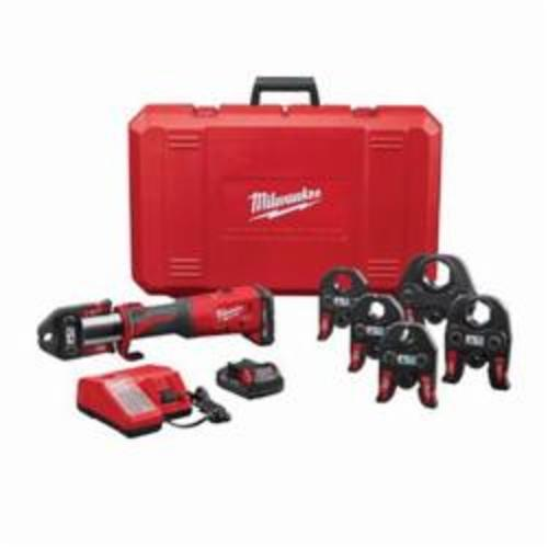 Milwaukee M18 FORCE LOGIC Press Tool Kit With 1/2 to 2 in Jaws, 1/2 to 4 in, 18 VDC