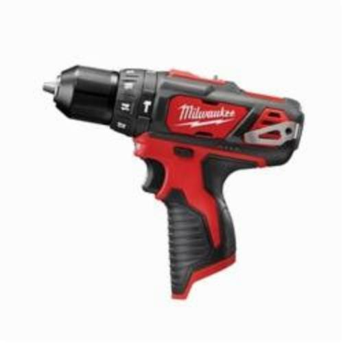 Milwaukee M12 Cordless Hammer Drill/Driver, 3/8 in Keyless Chuck, 275 in-lb Torque, 12 VDC, Lithium-Ion Battery