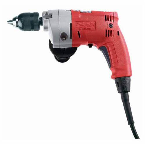 Milwaukee Magnum Grounded Electric Drill, 1/2 in 1-Sleeve/Keyless Chuck, 120 VAC