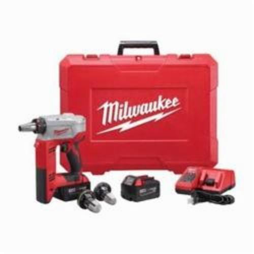 Milwaukee ProPEX M18 Expansion Tool Kit, 1 in, 1-1/4 in, 1-1/2 in, REDLITHIUM Battery, 18 VDC