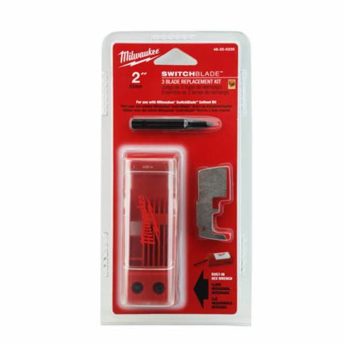 Milwaukee SWITCHBLADE 7-Piece Blade Replacement Kit, Suitable For Use With SwitchBlade 2 in Selfeed Drill Bit