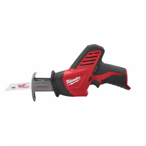 Milwaukee M12 HACKZALL Anti-Vibration Cordless Reciprocating Saw, 1/2 in, 3000 spm, Straight, 12 V