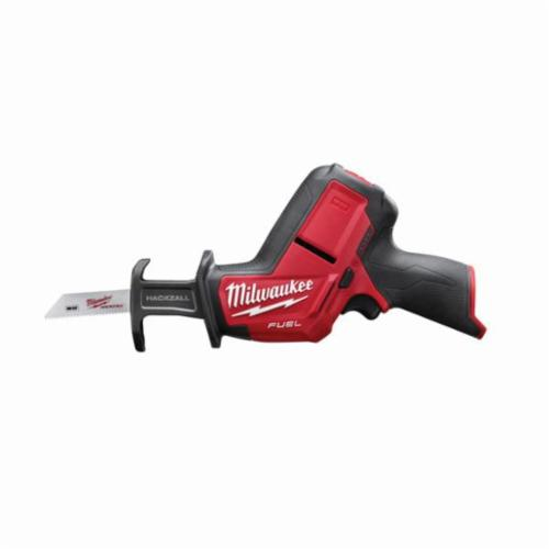 Milwaukee M12 FUEL HACKZALL Cordless Reciprocating Saw, 5/8 in, 3000 spm, Straight, 12 V