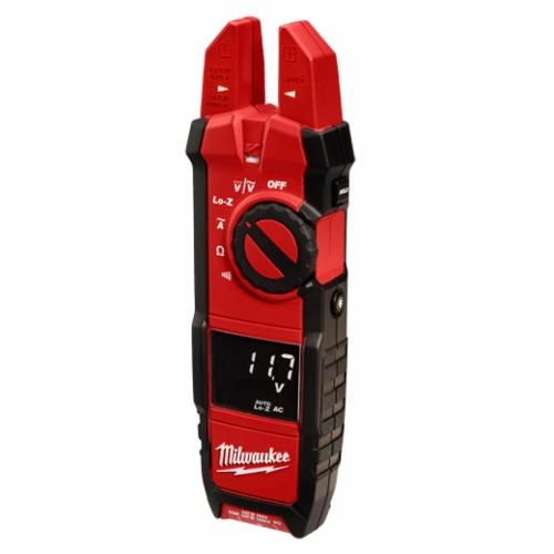 Milwaukee 2205-20 Heavy Duty Digital Fork Meter, 1000 VAC/VDC, 40 MOhm, 50/60 Hz, 5/8 in Jaw