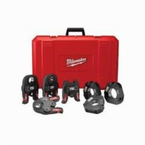 Milwaukee M18 Press Kit, For Use With Force Logic Press Tool, 1/2 to 2 in Jaw Capacity, Black Iron