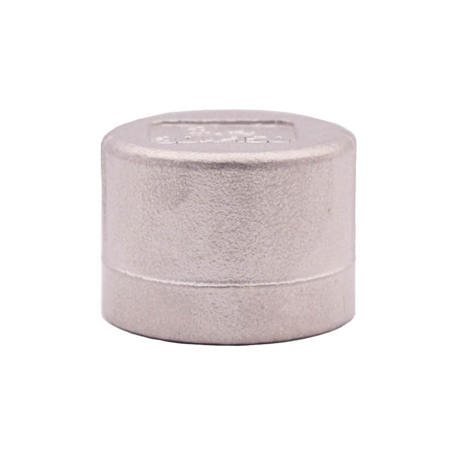 LEGEND 404-127 Cap, 1-1/2 in, Threaded, 304 Stainless Steel