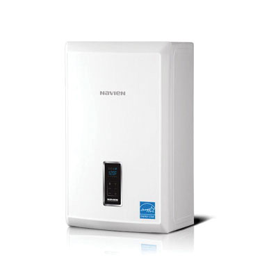 KD Navien NCB-E Condensing Gas Combination Boiler, Natural Gas Fuel, 18000 BtuH, Direct Vent