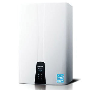 KD Navien NPE Condensing Tankless Gas Water Heater, 15000 to 150000 Btu/hr Heating, Natural/Propane Gas Fuel, 8.4 gpm