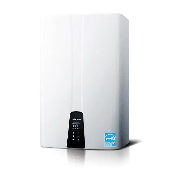 KD Navien NPE-S Premium Condensing Tankless Gas Water Heater, 18000 to 120000 Btu/hr Heating, Natural/Propane Gas Fuel