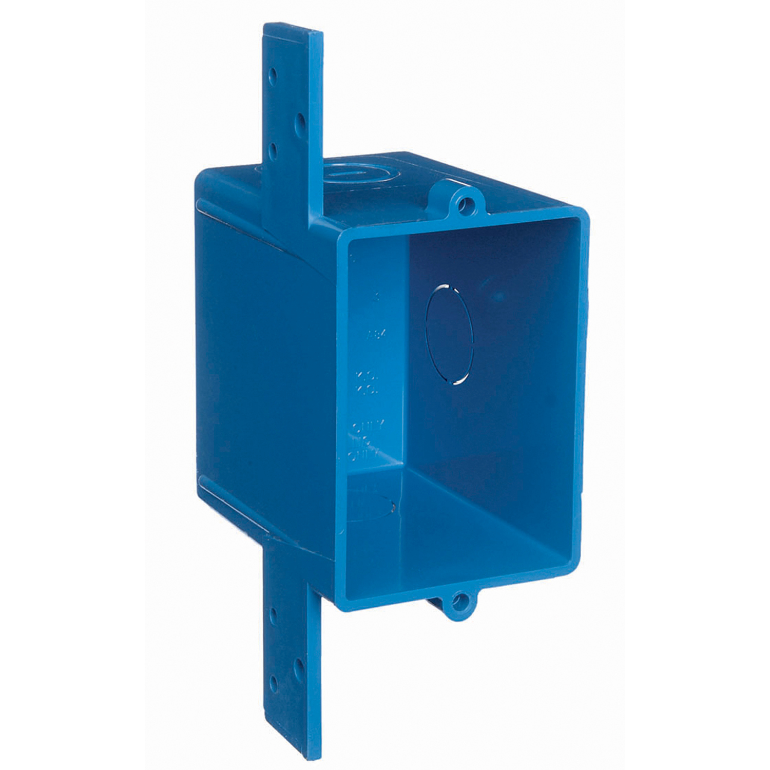 Carlon A58381D Outlet Box, PVC, 16 cu-in, 1 Gangs, 3 Knockouts