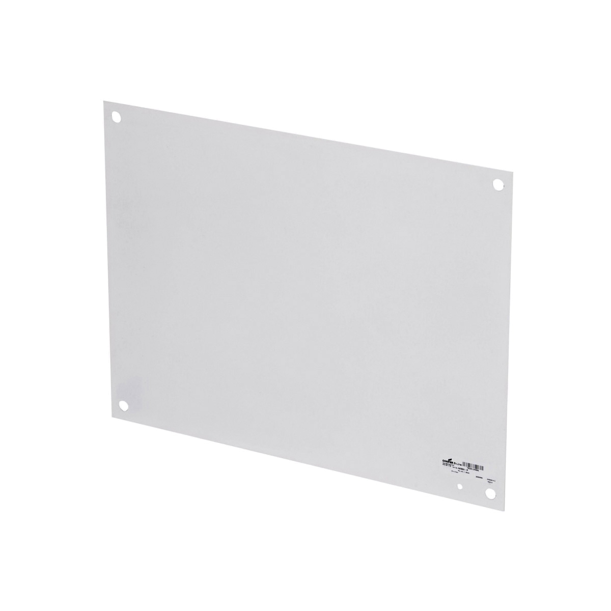 B-Line AW1616-1P Flat Enclosure Panel, 14-1/2 in W x 13 in H, Steel, White