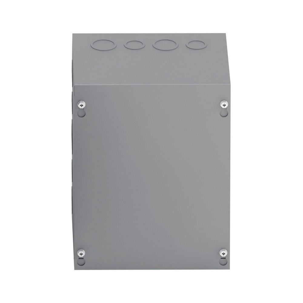 Unity 24248 SC NK Junction Box Without Knockout, 24 in W x 8 in D, Screw Cover, NEMA 1, Steel