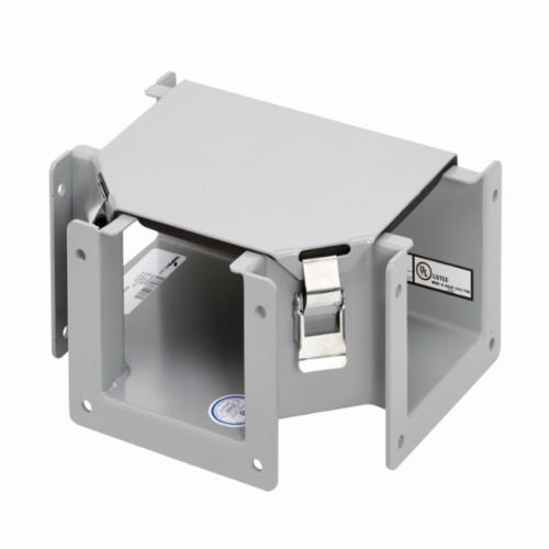 Unity 12124 RTSC NK Junction Box Without Knokout, 12 in L x 12 in W x 4 in D, NEMA 3R/IP32, Steel